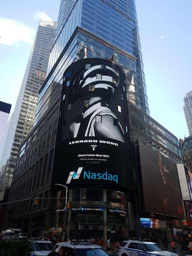ON — NASDAQ WALL SCREEN