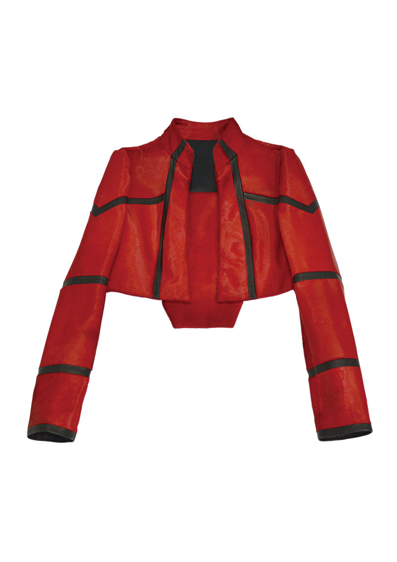 CALF RED JACKET